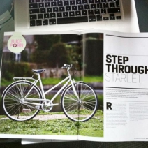 Oporto в Bicycle Buyer Magazine